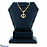 Kapruka Online Shopping Product Swarnamahal c/Z 22kt yellow gold studded pendant - pe0000097