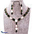 Kapruka Online Shopping Product Green Crystal Jewelry Set
