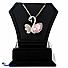 Kapruka Online Shopping Product Crystal Swan Necklace