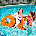 Kapruka Online Shopping Product Bestway Clown Fish Ride On Inflatable Pool Float