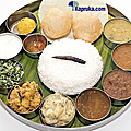 Kapruka Online Shopping Product South Indian Thali - Lunch Only