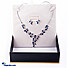 Kapruka Online Shopping Product Cubic Zirconia Necklace & Earing Set