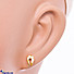 Kapruka Online Shopping Product Vogue 22K Ear Stud Set With 10 Cz Rounds