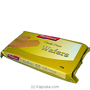 Maliban Vanilla Cream Wafers - 100g at Kapruka Online for specialGifts