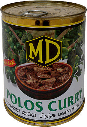 MD Polos Curry Tin - 520g at Kapruka Online for specialGifts