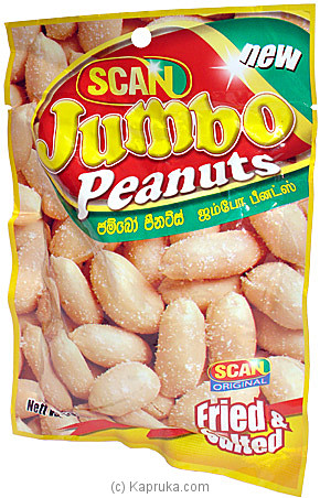 Scan Jumbo Peanuts - 90g at Kapruka Online for specialGifts