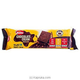 Maliban Chocolate Cream Biscuits - 100g at Kapruka Online for specialGifts