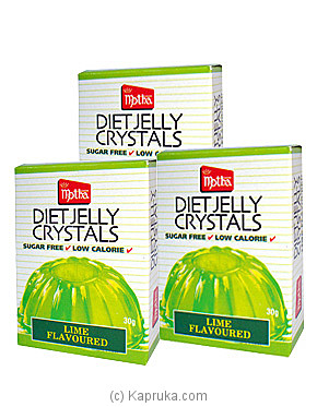 3 Pack Of Motha Lime Diet Jelly Crystal pkts - 90g at Kapruka Online for specialGifts