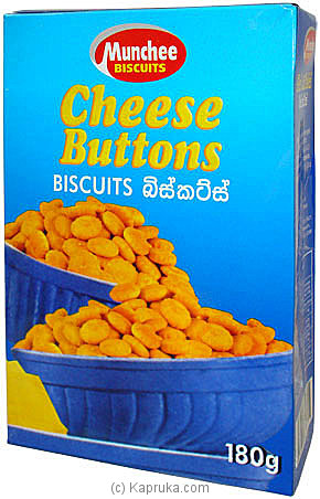 Munchee Cheese Buttons Box - 170g at Kapruka Online for specialGifts