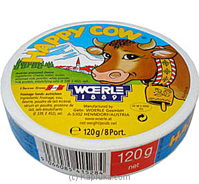 Happy Cow Cheese - 120g (8 Portions) at Kapruka Online for specialGifts