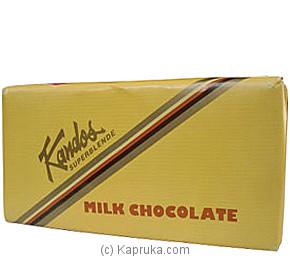 Kandos Milk Chocolate - 160g By KANDOS at Kapruka Online forspecialGifts