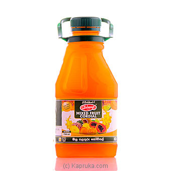 Mixed Fruit Cordial Bottle 750ml - Edinboroughat Kapruka Online forspecialGifts