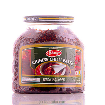 Chinese Chilli Paste Bottle 350g - Edinborough at Kapruka Online for specialGifts