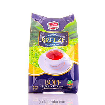Delmege Breeze Pure Ceylon Tea 400g Pkt at Kapruka Online for specialGifts