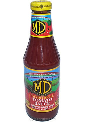 MD Traditional Tomato Sauce Bottle - 400g at Kapruka Online for specialGifts