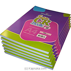 Half Dozen CR Books - 200 Pages at Kapruka Online for specialGifts