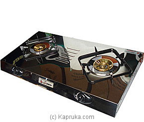 Clear Two Burner Gas Cooker - 2-N5-S at Kapruka Online