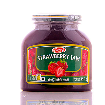 Natural Strawberry Jam - 450g - Edinborough at Kapruka Online for specialGifts