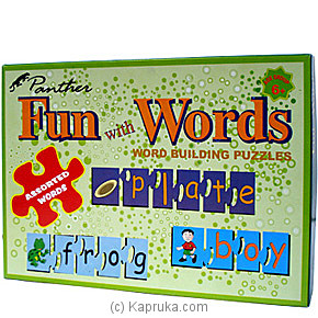 Fun With Words - Building Puzzles 12320 - Panther at Kapruka Online for specialGifts