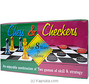 Chess And Checkers 12503 - Panther at Kapruka Online for specialGifts