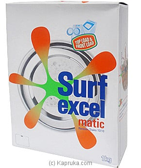 Surf Excel - Matic - Pkt - 1 Kg at Kapruka Online for specialGifts
