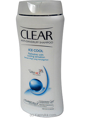 Clear (Ice Cool) Anti-dandruff Shampoo - 200ml at Kapruka Online for specialGifts
