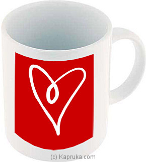 Red Heart Coffee Mug at Kapruka Online for specialGifts