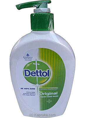 Dettol  Original Liqued Hand Wash Bottle - 250ml at Kapruka Online for specialGifts