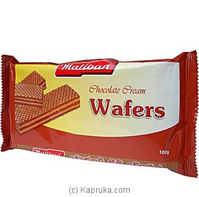 Maliban - Chocolate Cream Wafers-100g at Kapruka Online for specialGifts