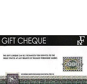 Rs 2,000 Ramani Salon Gift Voucher at Kapruka Online for specialGifts