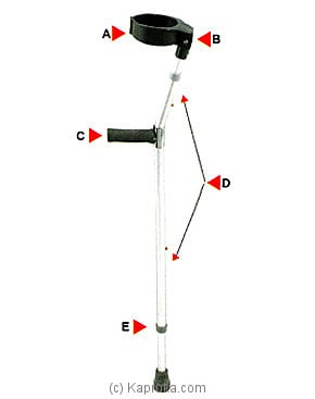 Forearm Crutches (Walking Aids) HF7-21A at Kapruka Online for specialGifts
