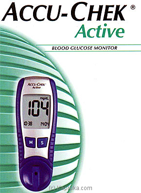 ACCU-CHEK Blood Glucose Monitor at Kapruka Online for specialGifts