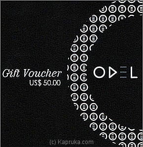US$ 50 Odel Gift Voucher at Kapruka Online for specialGifts