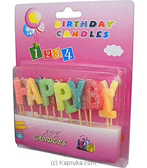Fancy Birthday Candles at Kapruka Online for specialGifts