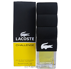 Men`s Lacoste Challenge - 75ml at Kapruka Online for specialGifts