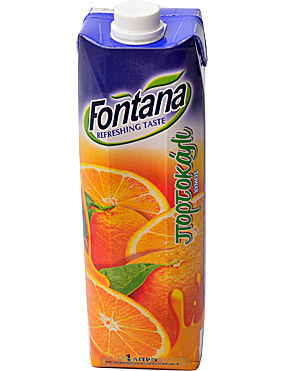 fontana Classic Orange - 1 Ltr at Kapruka Online for specialGifts