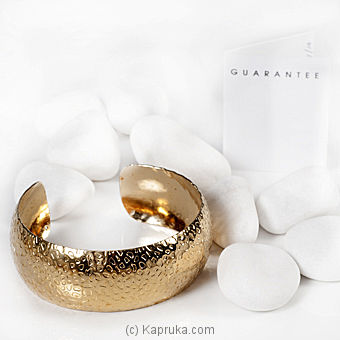 Re-adjustable Gold Plated Bangle - GA0731 at Kapruka Online for specialGifts