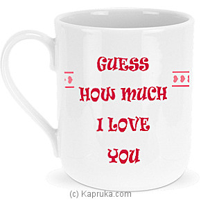 Guess How Much I Love You Mug at Kapruka Online for specialGifts