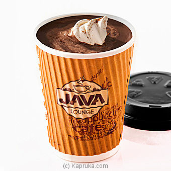 Signature Hot Chocolate - Tall Size By Java at Kapruka Online forspecialGifts