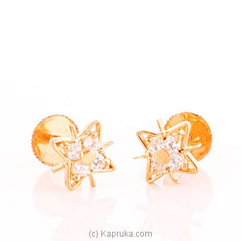 Gold Earring at Kapruka Online for specialGifts