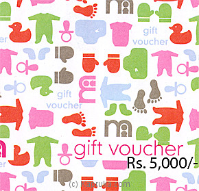 Mothercare Gift Voucher Rs 5000 at Kapruka Online for specialGifts