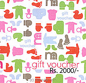 RS.2000.00 Mother Care Gift Voucher at Kapruka Online for specialGifts
