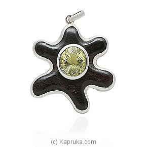 An Ebony And Silver Pendant at Kapruka Online for specialGifts