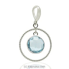 An 18kt White Gold Pendant at Kapruka Online for specialGifts