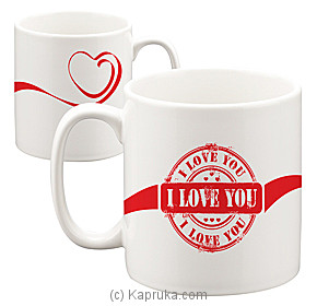Love Seal Mug at Kapruka Online for specialGifts
