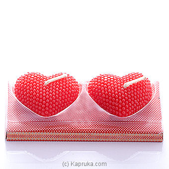 Double Hearts Candle at Kapruka Online for specialGifts