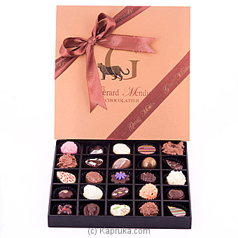 25 Piece Chocolate Wooden Box (GMC) at Kapruka Online for specialGifts