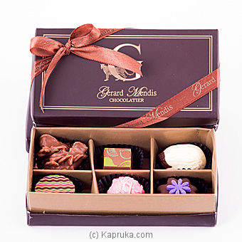 6 Piece Chocolate Box(GMC) at Kapruka Online for specialGifts
