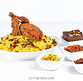 Savan Chicken Biriyani - For 6 People at Kapruka Online for specialGifts