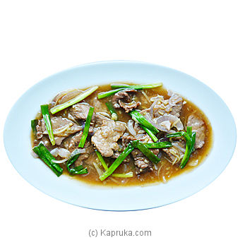 Sliced Beef With Spring Onion And Ginger at Kapruka Online for specialGifts